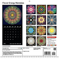 Flower Energy Mandalas (Wall Calendar 2019 300 × 300 mm Square) - Produktdetailbild 13