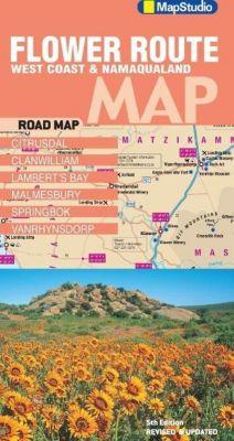 Flower Route: West Coast & Namaqualand NP 1 : 417 000