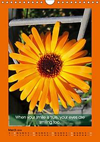 Flowerful Quoteful (Wall Calendar 2019 DIN A4 Portrait) - Produktdetailbild 3