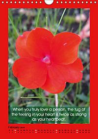 Flowerful Quoteful (Wall Calendar 2019 DIN A4 Portrait) - Produktdetailbild 2