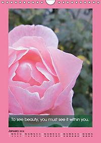 Flowerful Quoteful (Wall Calendar 2019 DIN A4 Portrait) - Produktdetailbild 1