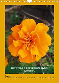 Flowerful Quoteful (Wall Calendar 2019 DIN A4 Portrait) - Produktdetailbild 7