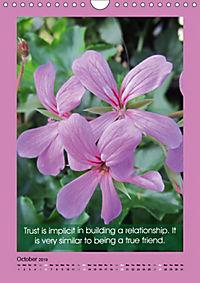 Flowerful Quoteful (Wall Calendar 2019 DIN A4 Portrait) - Produktdetailbild 10
