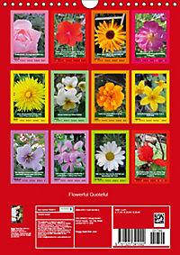 Flowerful Quoteful (Wall Calendar 2019 DIN A4 Portrait) - Produktdetailbild 13