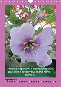 Flowerful Quoteful (Wall Calendar 2019 DIN A4 Portrait) - Produktdetailbild 9