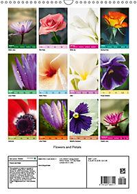 Flowers and Petals (Wall Calendar 2019 DIN A3 Portrait) - Produktdetailbild 13