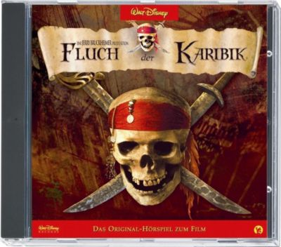 Fluch der Karibik 1, 1 Audio-CD, Walt Disney