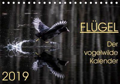 Flügel 2019 Der vogelwilde Kalender (Tischkalender 2019 DIN A5 quer), Irma van der Wiel, Irma van der Wiel