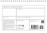 Flügel 2019 Der vogelwilde Kalender (Tischkalender 2019 DIN A5 quer) - Produktdetailbild 13