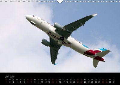 2018 Quer Wandkalender Din Flugzeuge Lufthansa A3 Von n0Ok8Pw