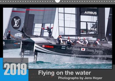 Flying on the water 2019 - Photographs by Jens Hoyer (Wandkalender 2019 DIN A3 quer), Jens Hoyer