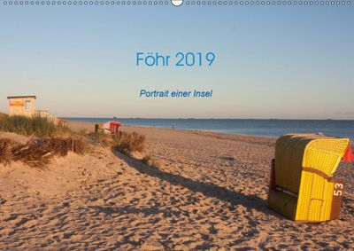 Föhr 2019. Porträt einer Insel (Wandkalender 2019 DIN A2 quer), eyecatches/Sarah-Isabel Conrad