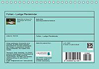 Fohlen - Lustige Pferdekinder (Tischkalender 2019 DIN A5 quer) - Produktdetailbild 1