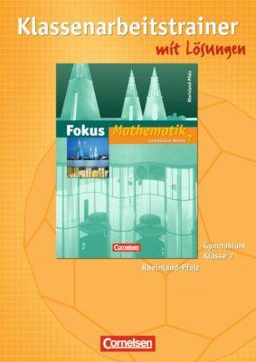 Fokus Mathematik, Gymnasium Rheinland-Pfalz: 7. Schuljahr, Klassenarbeitstrainer
