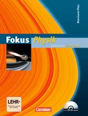 Fokus Physik, Gymnasium Rheinland-Pfalz, Gesamtband m. DVD-ROM