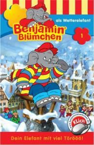 Folge 001: Als Wetterelefant, Benjamin Blümchen