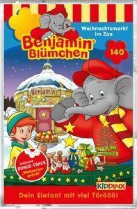 Folge 140: Weihnachtsmarkt Im Zoo, Benjamin Blümchen