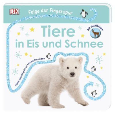 Folge der Fingerspur - Tiere in Eis und Schnee, Sandra Grimm
