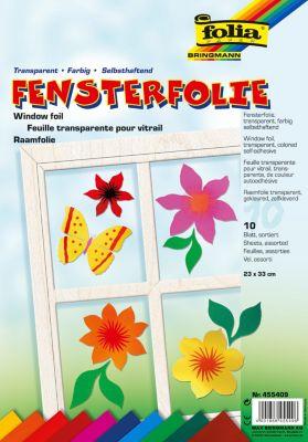 folia Fensterfolie (Ausführung: farbig)