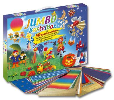 folia Jumbo-Bastelbox, 107-teilig
