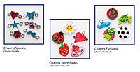 Folia RubberLoops Set Charms, 16 Teile, - Produktdetailbild 1