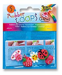 Folia RubberLoops Set Charms, 16 Teile, - Produktdetailbild 6