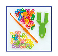 Folia RubberLoops Set Mix Noppen, 791 Teile - Produktdetailbild 6