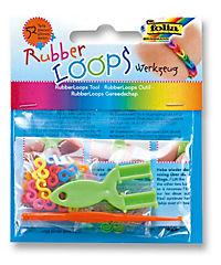 Folia RubberLoops Set Mix Streifen nachtleuchtend, 1.204 Teile, Polybeutel - Produktdetailbild 5