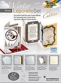 folia Winter Leporello Set mit Cutties, 38-teilig - Produktdetailbild 1