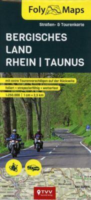 FolyMaps Bergisches Land - Rhein - Taunus 1:250 000