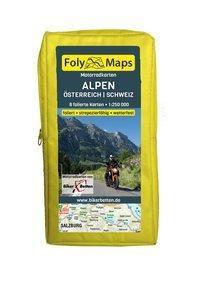 FolyMaps Motorradkarten Alpen Österreich Schweiz -  pdf epub