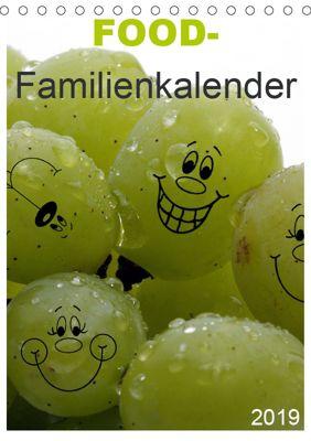 FOOD -Familienkalender (Tischkalender 2019 DIN A5 hoch), SchnelleWelten