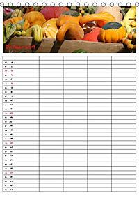FOOD -Familienkalender (Tischkalender 2019 DIN A5 hoch) - Produktdetailbild 10
