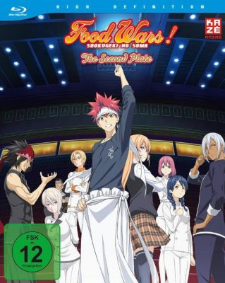 Food Wars! The Second Plate - 2. Staffel Limited Edition