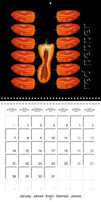 foodART fruit and veggies (Wall Calendar 2019 300 × 300 mm Square) - Produktdetailbild 1