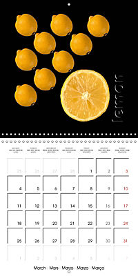 foodART fruit and veggies (Wall Calendar 2019 300 × 300 mm Square) - Produktdetailbild 3