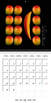foodART fruit and veggies (Wall Calendar 2019 300 × 300 mm Square) - Produktdetailbild 4