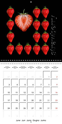 foodART fruit and veggies (Wall Calendar 2019 300 × 300 mm Square) - Produktdetailbild 6