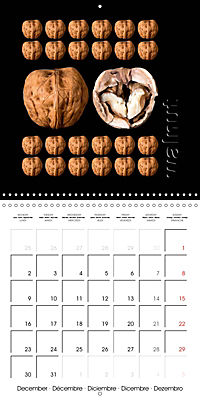 foodART fruit and veggies (Wall Calendar 2019 300 × 300 mm Square) - Produktdetailbild 12