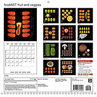 foodART fruit and veggies (Wall Calendar 2019 300 × 300 mm Square) - Produktdetailbild 13