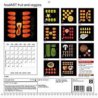 foodART fruit and veggies (Wall Calendar 2019 300 × 300 mm Square) - Produktdetailbild 13