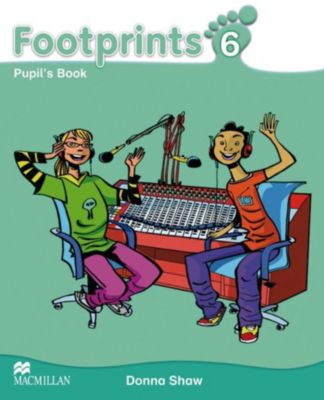 Footprints: Vol.6 Pupil's Book, w. CD-ROM, Audio-CD and Portfolio Booklet, Donna Shaw