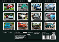 FORD F 1 - F 100 (Wandkalender 2019 DIN A4 quer) - Produktdetailbild 13
