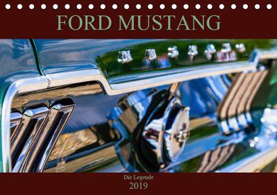 Ford Mustang - Die Legende (Tischkalender 2019 DIN A5 quer), Peter Schürholz