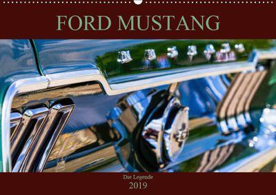 Ford Mustang - Die Legende (Wandkalender 2019 DIN A2 quer), Peter Schürholz