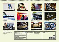Ford Mustang - Die Legende (Wandkalender 2019 DIN A2 quer) - Produktdetailbild 13