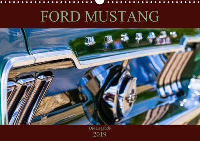 Ford Mustang - Die Legende (Wandkalender 2019 DIN A3 quer), Peter Schürholz
