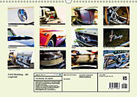 Ford Mustang - Die Legende (Wandkalender 2019 DIN A3 quer) - Produktdetailbild 13