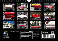 Ford Thunderbird (Wall Calendar 2019 DIN A4 Landscape) - Produktdetailbild 13