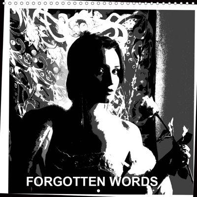 FORGOTTEN WORDS (Wall Calendar 2019 300 × 300 mm Square), Eugenia Jurjewa
